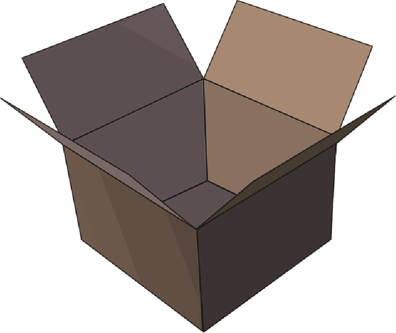 Box, Package Empty Image Icon image #31187