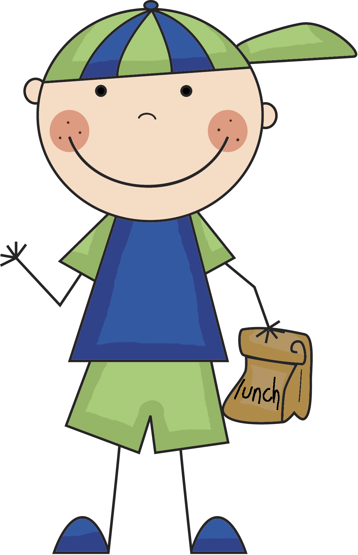 Boy Lunch Png image #4955