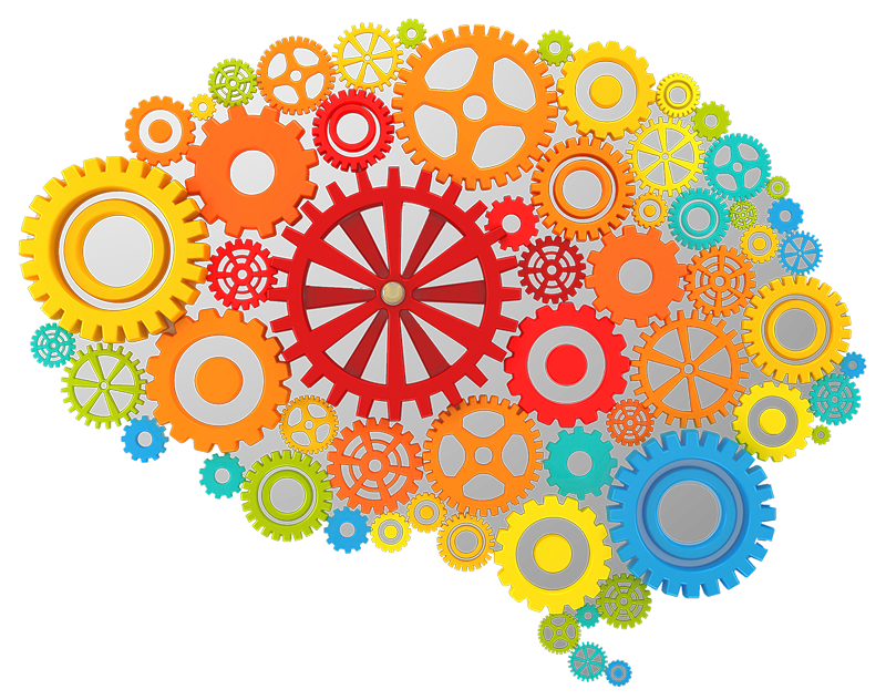 Brain Gears Icon Png image #2551