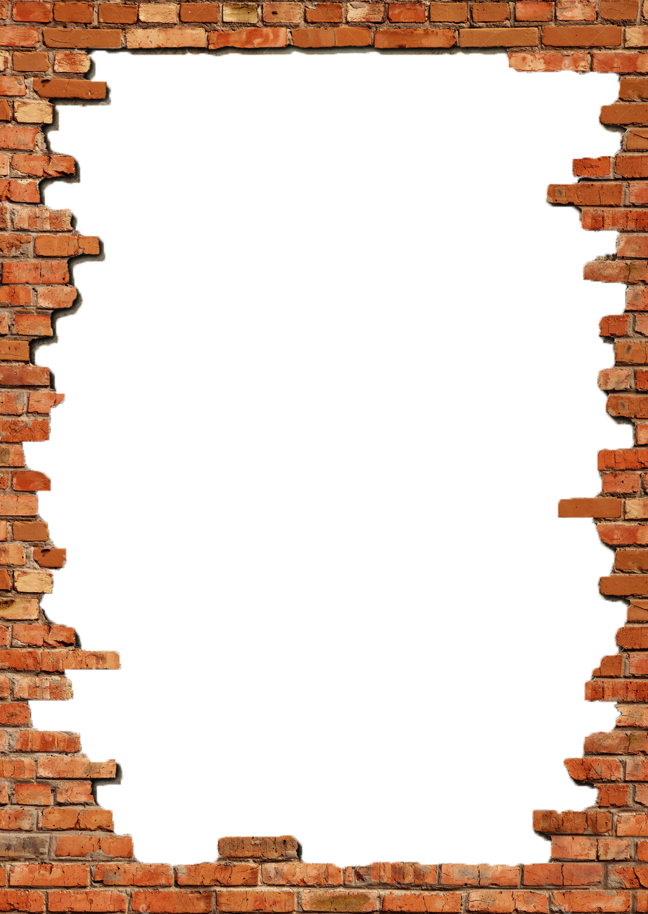 Bricks Frame Png image #39832