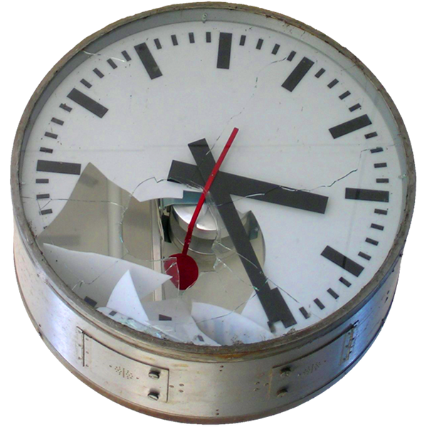 Broken clock png