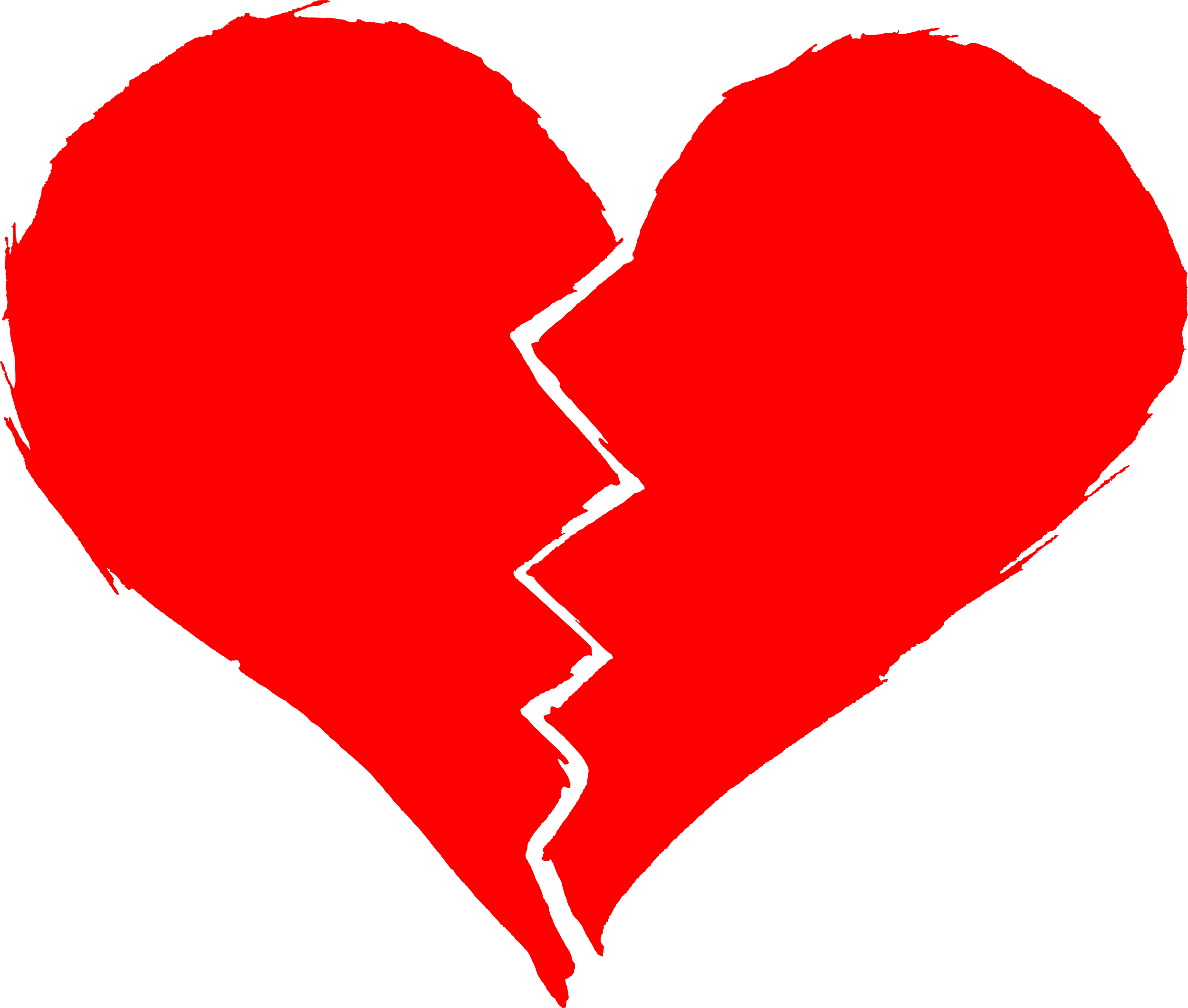 Broken Heart Transparent Background