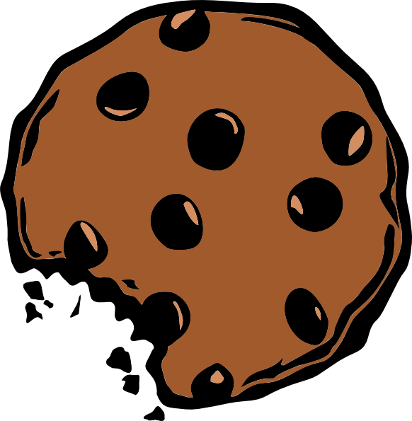 Brown Cookie Clipart Background image #48031