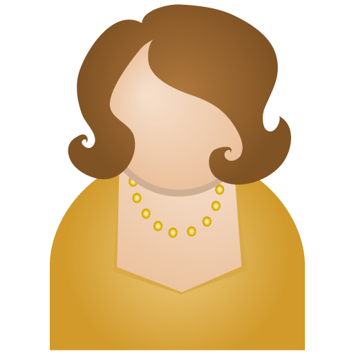 brown woman people icon | Icon2s | Download Free Web Icons