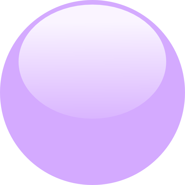 Bubble Purple Png image #44359