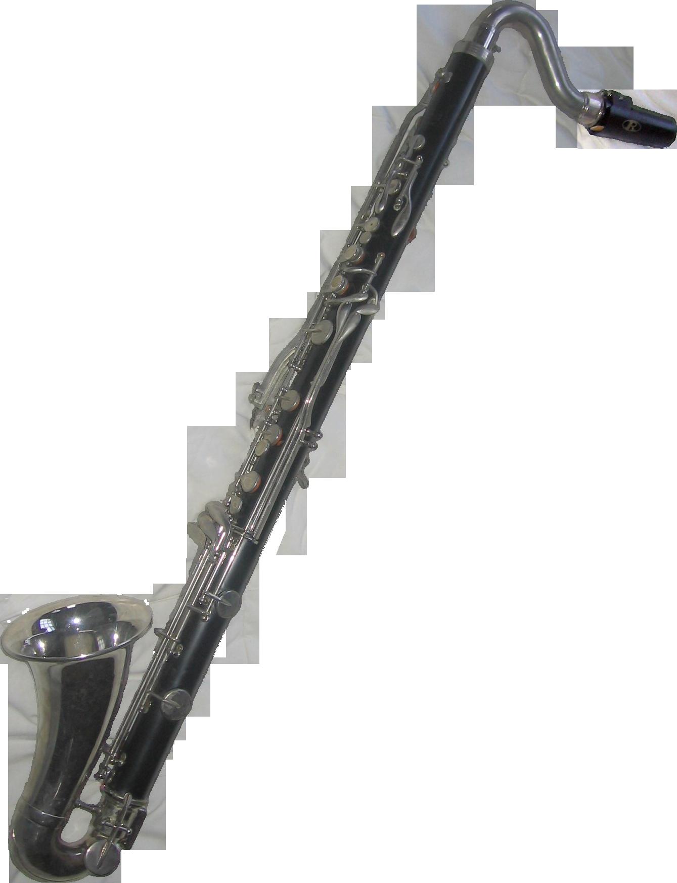 Bundy bass clarinet png