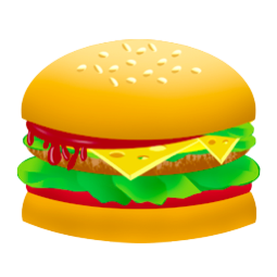 Fast Food Drawing Vector image #41608