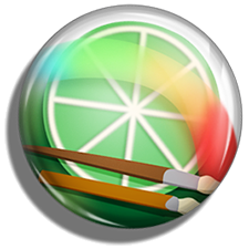 Button Paint Tool Sai Icon