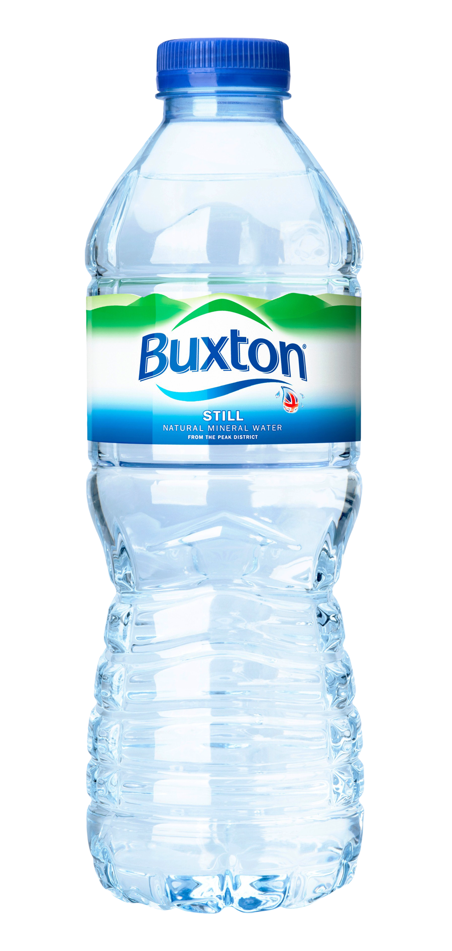 buxton brand plastic water bottle PNG image