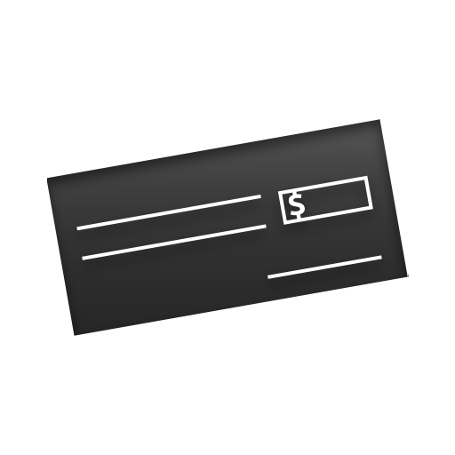 Cheque Png Free Icon