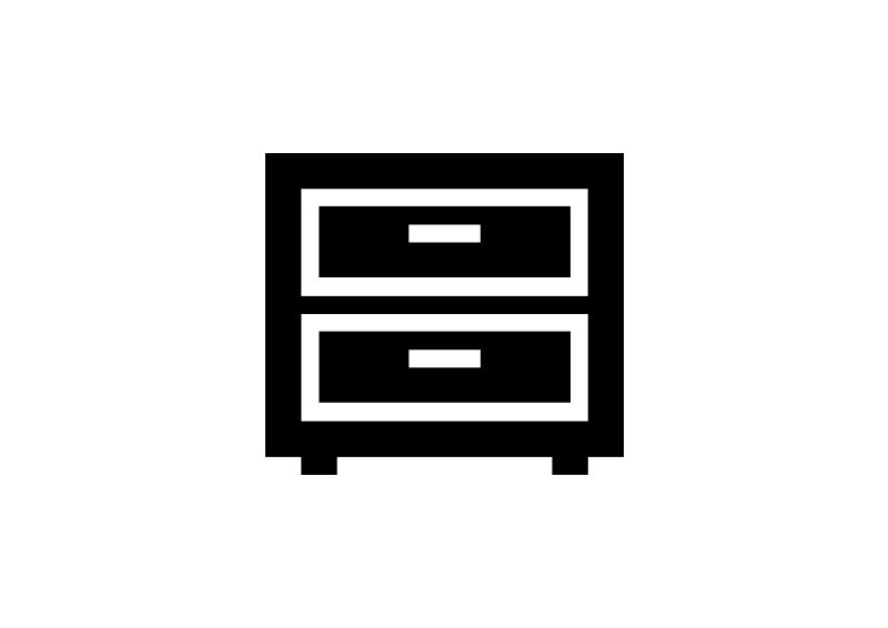 Cabinet Icon Drawing image #9289