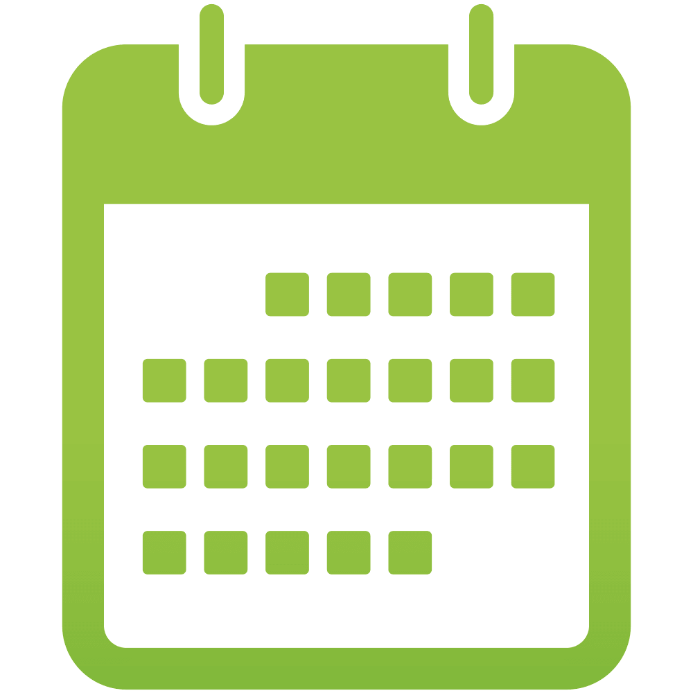 Blank Calendar Icon Green : Calendar icons png vector free and backgrounds