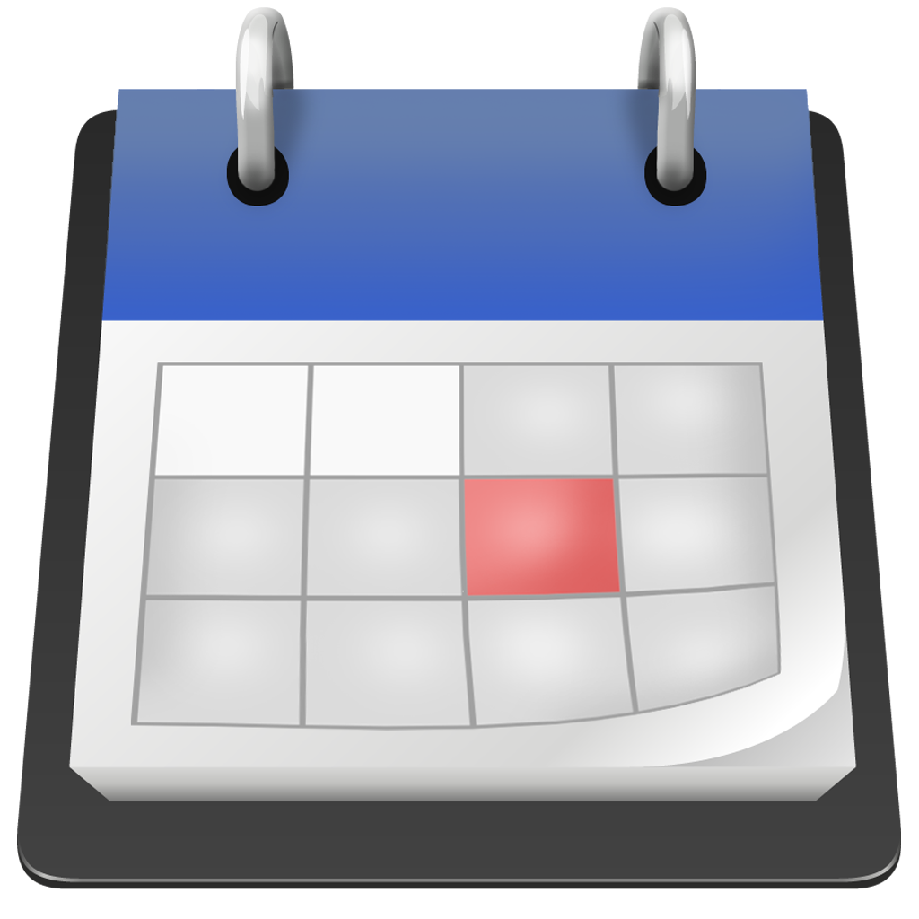 Calendar Background Png : Calender icon blue free icons and png backgrounds