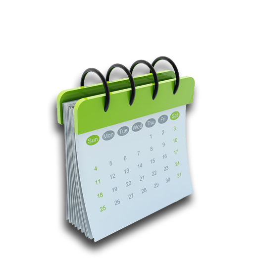 Blank Calendar Icon Green : Calendar ico free icons and png backgrounds