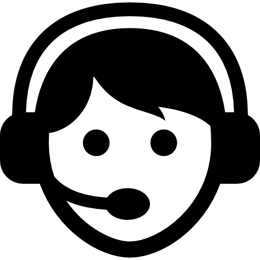 Call Center Worker With Headset   Free People Icons image #2009