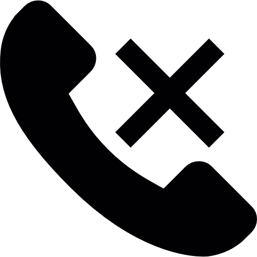 Vector Call End Icon image #12792