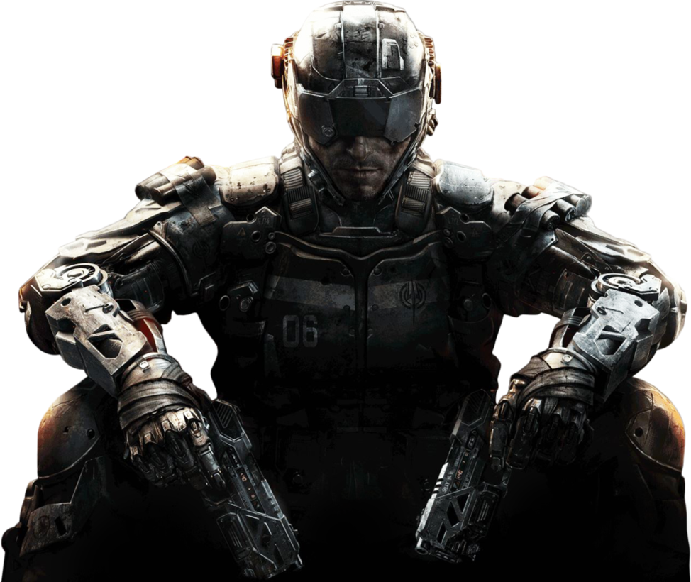 Call of Duty Black Ops III Render Png Image