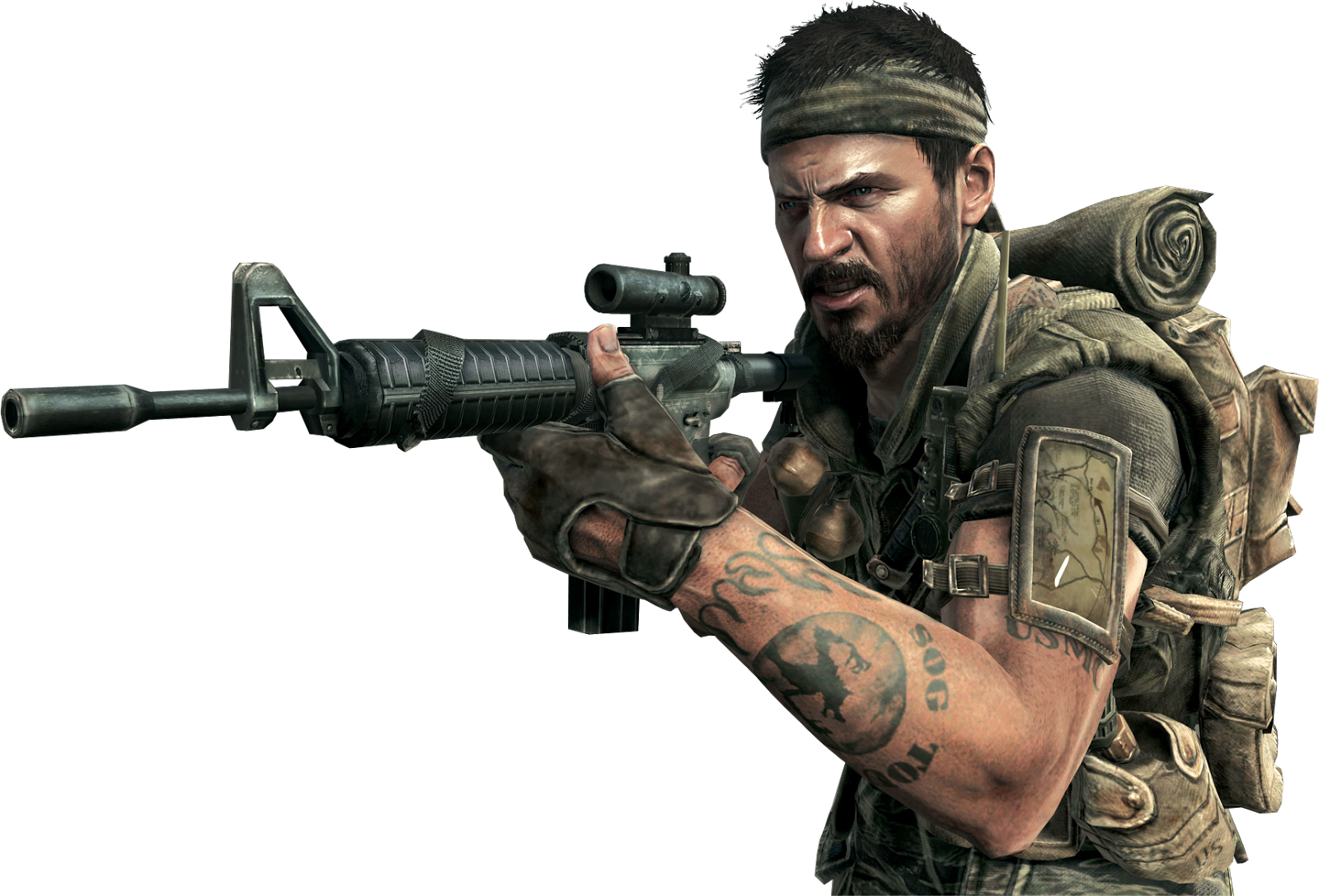 Call of Duty Black Ops PNG File