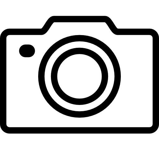 Camera black outline Image