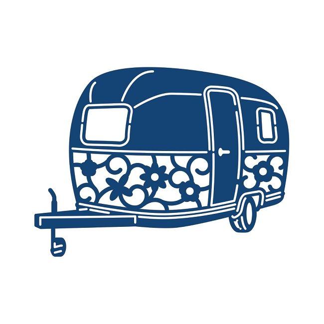 Vector Camping Drawing