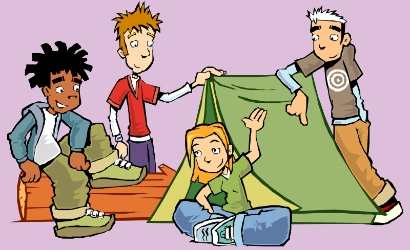 Camping, Campsite Png image #33997