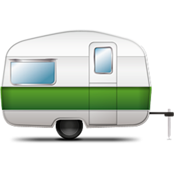 Camping, Trailer, Campsite Png image #33991