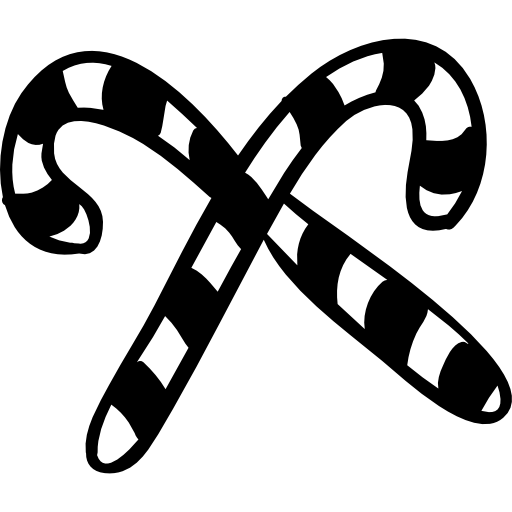 Candy Cane Icon Free Png