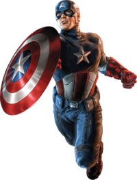 Png Captain America Vector Free Download image #32555