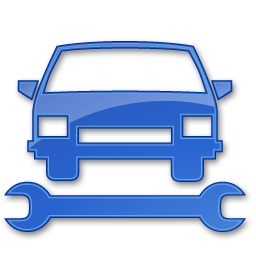 Car Repair Blue 2 Icon | Points Of Interest