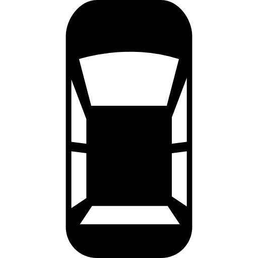 Car Top View Icon image #11554