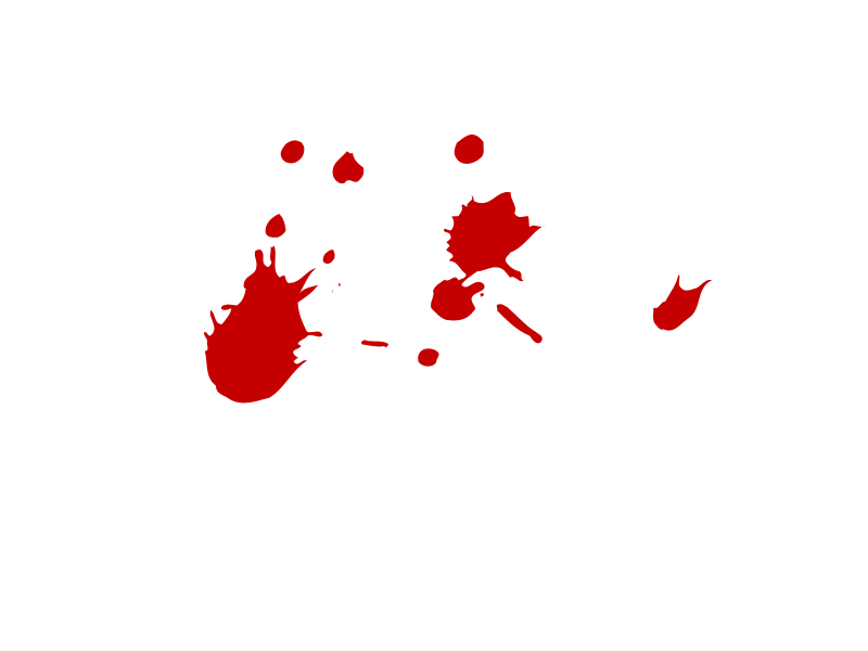 Cartoon Blood Drop image png