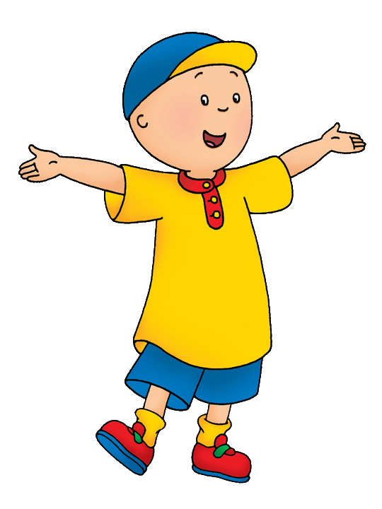 Cartoon Characters Caillou PNG Picture image #44265
