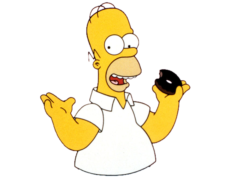 Cartoon Characters Simpsons (PNG) image #44268