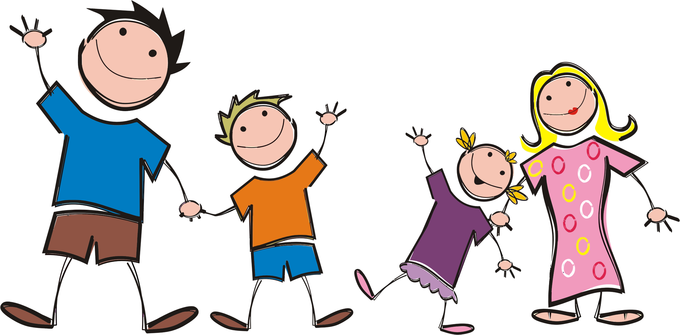 Cartoon Family Png image #40062