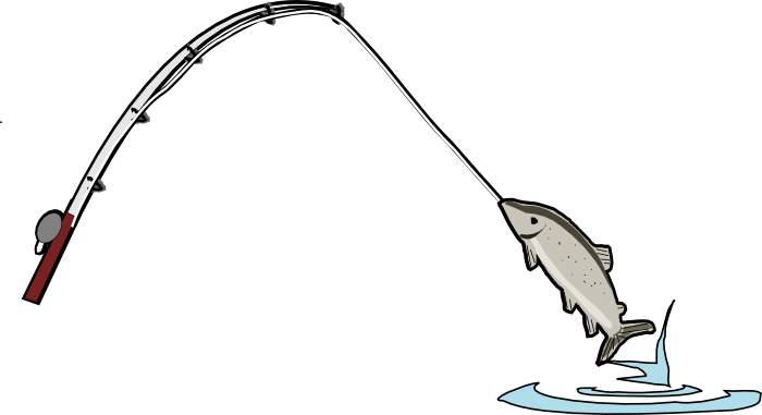 Cartoon Fishing image png