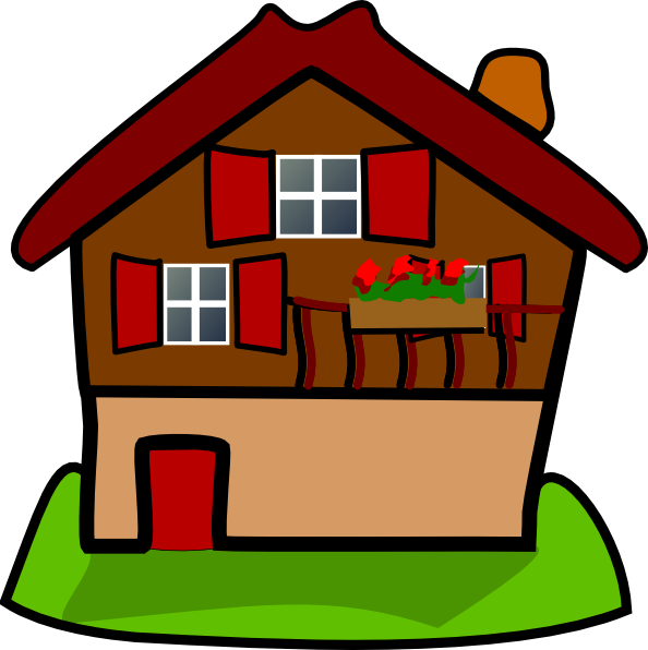 Cartoon House Clip Art HD Png image #45366