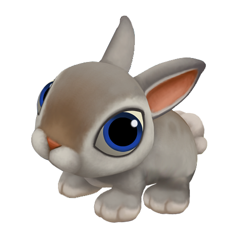 Cartoon Rabbit Clip Art image #40338