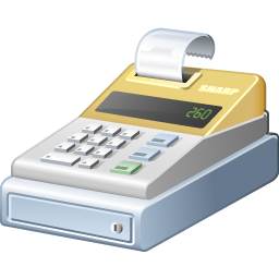 Download Cashier Icon Png image #9117