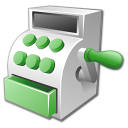 Vector Icon Cashier