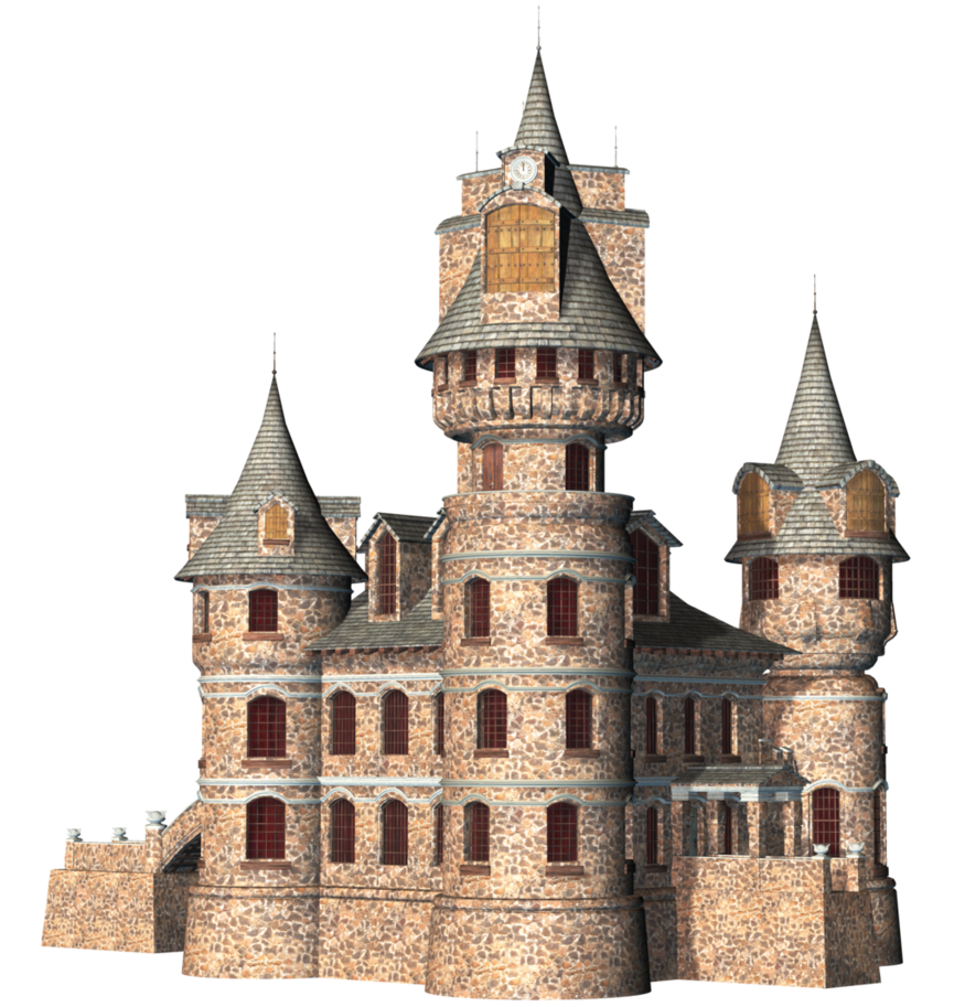 Transparent Castle PNG