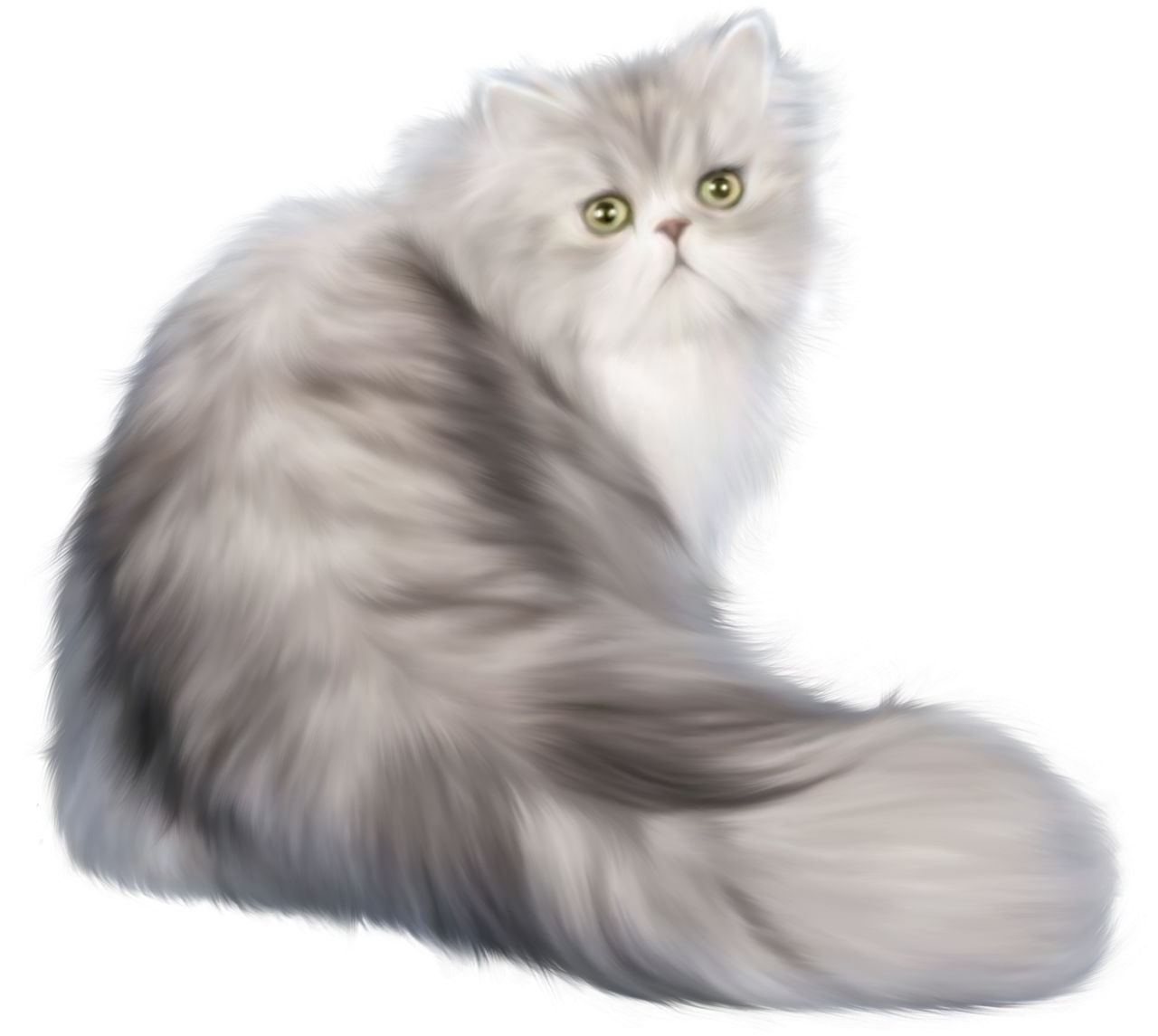 cotton, pile cat png