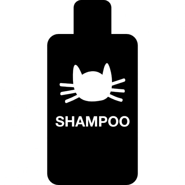 Cat Shampoo Bottle Icon image #42955