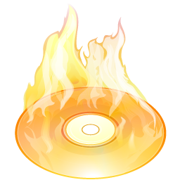 Burn Disk Size Icon