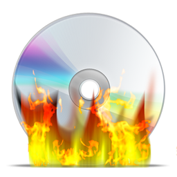 Burn Disk Icon Transparent