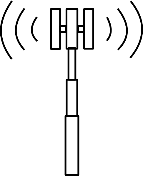 Cell Tower Icon image #25722