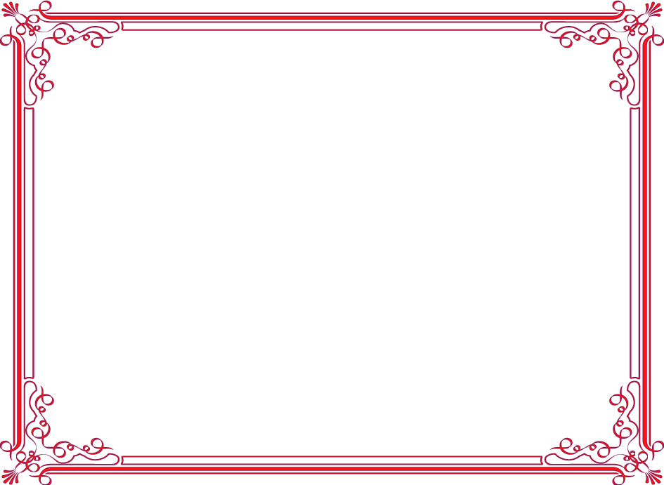 Certificate Border Png image #39741