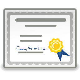 Simple Certificate Png image #10308
