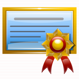 Certificate Image Icon Free #10313 - Free Icons and PNG ...