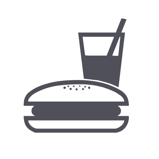 Chain, Eating, Fast Food, Restaurant Icon  image #4898