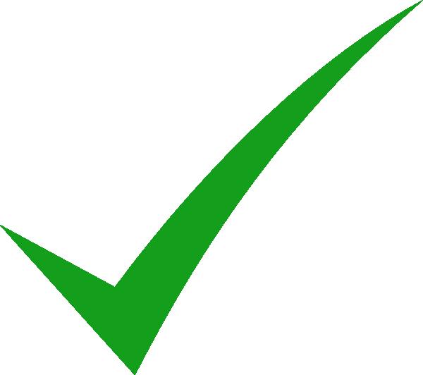 check mark clip art icon